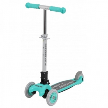 3 Wheels Scooter Green