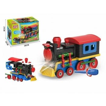 Brimarex DIY locomotive.Konstruktor poistele