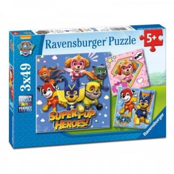 Ravensburger Puzzle - Paw Patrol, 3x49 pcs
