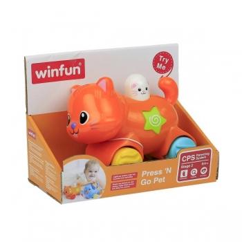 """Winfun """"Press and Go Kitten"""" со световыми и звуковыми эфектами"""