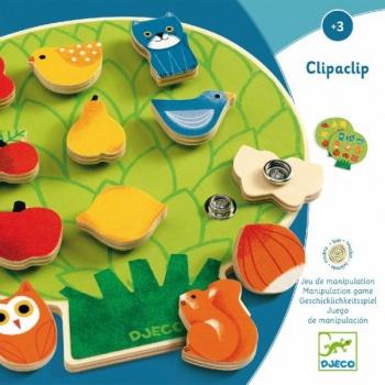 Hariv puidust mäng Clipaclip