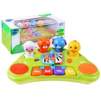 Пианино для малышей Животные со звуками органа