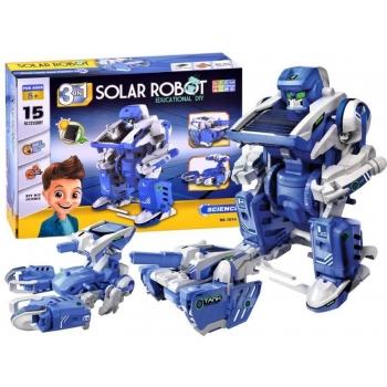 Конструктор на солнечной батарее 3 в 1 Роботы - Solar robot