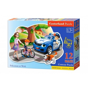 "Puzzle Castorland 12 pcs MAXI ""Policeman at Work"""