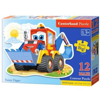 "Pusle Castorland 12 tk MAXI ""Funny Digger"""