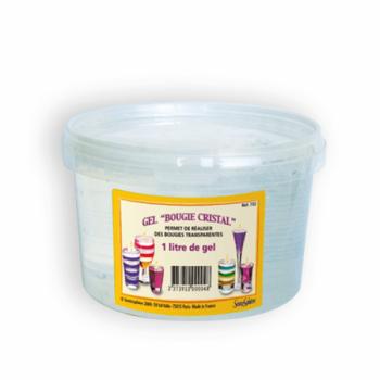 Pot of clear gel 1 liter