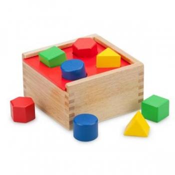 New Classic Toys Shape sorter - Cube