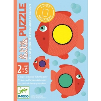 Toddler card game - Little Puzzle