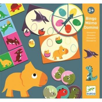 3 mängu ühes komplektis - Bingo, Doomino, Mälumäng