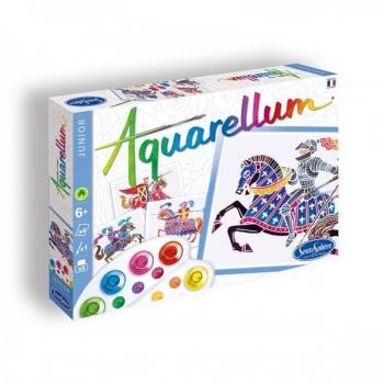 Акварельная раскраска  Aquarellum Junior Chevaliers