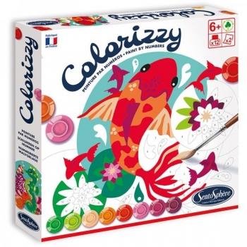 Раскрашивание по номерам-Colorizzy Рыбки