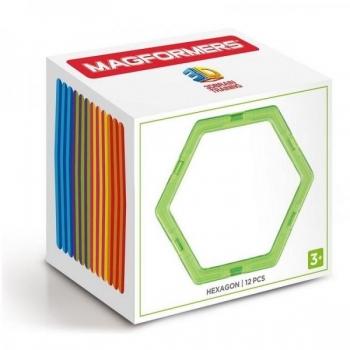 Magnetkonstruktor Magformers Hexagon Set 12P
