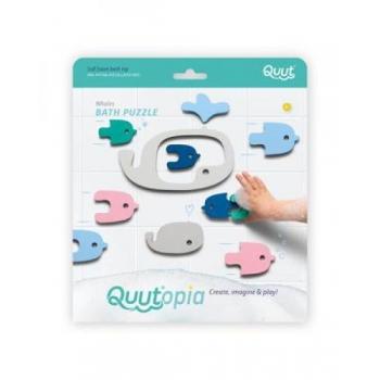 Quutopia - Bath puzzle - Whale