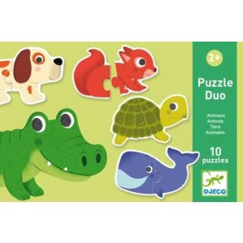 Duo Puzzle - Animals (20 pcs)