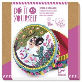 Do it yourself - Box to decorate - Little secrets