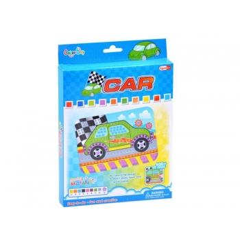 Mosaic car sticker