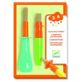 The colours - 3 ingenious paintbrushes