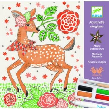 Magic watercolour - Dandy of the woods