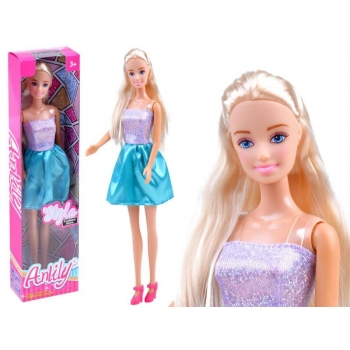 Anlily Doll with long hair in a dress