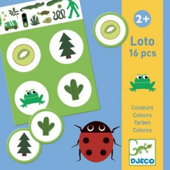 Educational games - Lotto - Colours