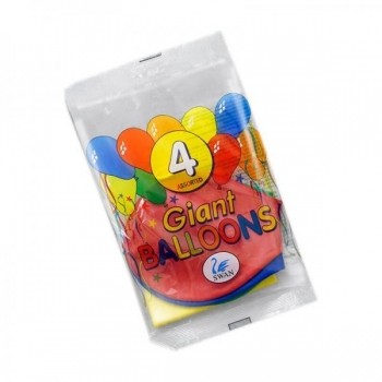 Набор воздушных шаров Swan  Giant Balloons 4 штуки