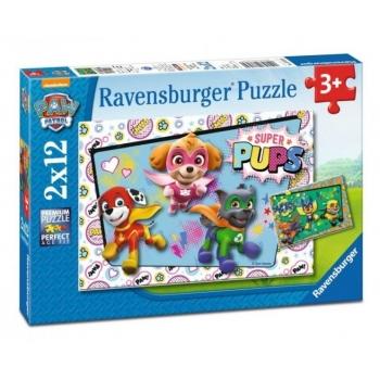 Ravensburger Puzzle - Paw Patrol, 2x12 pcs