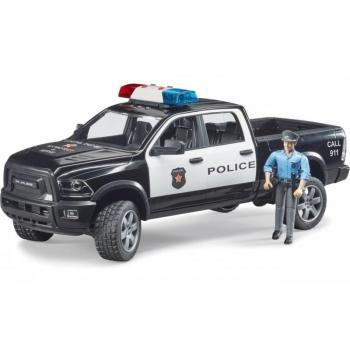 Bruder Полицейский пикап RAM 2500 с фигуркой полисмена