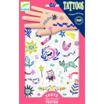 Tattoos - Sweet dreams.Glow in the dark