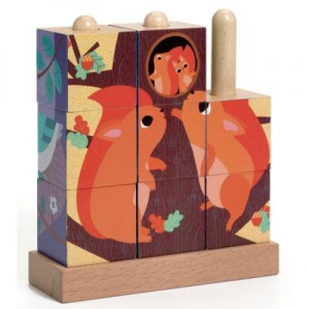 Wooden puzzle - Puzz-Up Forest