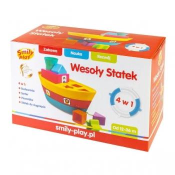 Smily Play кораблик-сортер