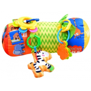 Развивающий ролик с игрушками для малышей