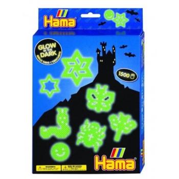 Термомозаика Hama светится в темноте 1500 бусин