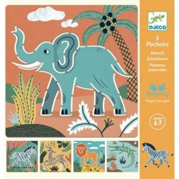 Stencils - Wild animals