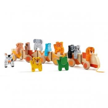 Varajast arengut toetavad mänguasjad - puitrong Trainimo Jungle
