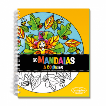 """Värvimisraamat """"Mandala"""""""