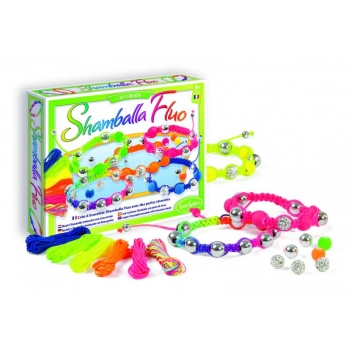 """Shamballa Fluo"" My jewellery workshop"