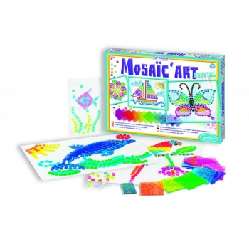 "Mosaic window Art ""Crystal"""