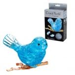 Crystal Puzzle Fish Bird