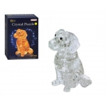 Crystal Puzzle Dog