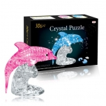 Crystal Puzzle Dolphins