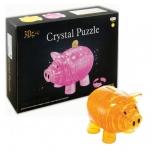 """Кристаллический пазл 3D Копилка """"Поросёнок"""" / Crystal Puzzle"""
