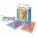 """Akvarelli värvimispildid (mini) """"Elevandid"""""""
