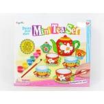 Paint your own mini tea Set, 12 pcs