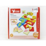 Puzzle Set Fruits, 41 pcs