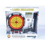 Laseriga mängurelv koos elektroonilise märklauaga