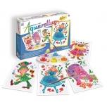 """Akvarelli värvimispildid """"Alice Imedemaal"""" (Junior)"""