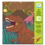 Scratch Board Dinosaurs