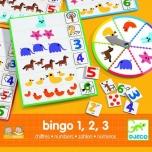 EDULUDO - Bingo Numbers 1,2,3