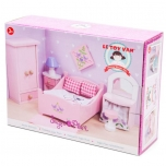 Dollhouse Furniture / Sugar Plum Bedroom 13pcs