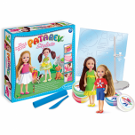 """Творческий набор с пластилином Patarev и 2 куклами Alix&Ines """"Стилист"""""""